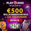 Playamo offers a $100 online casino deposit bonus