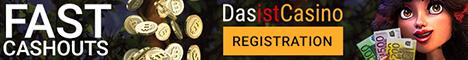 Dasistcasino offers a $350 online casino deposit bonus