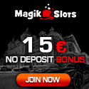 Magik Slots Casino offers a $1500 online casino deposit bonus and a great $15 no deposit casino bonus