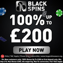 Black Spins offers a $0 online casino deposit bonus