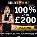 Chelsea Palace offers a $0 online casino deposit bonus