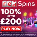 Red Spins offers a $0 online casino deposit bonus