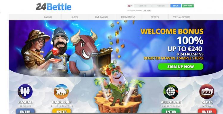 24 Bettle homepage image