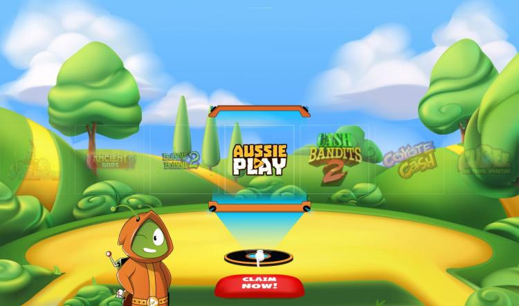 Aussie Play homepage image