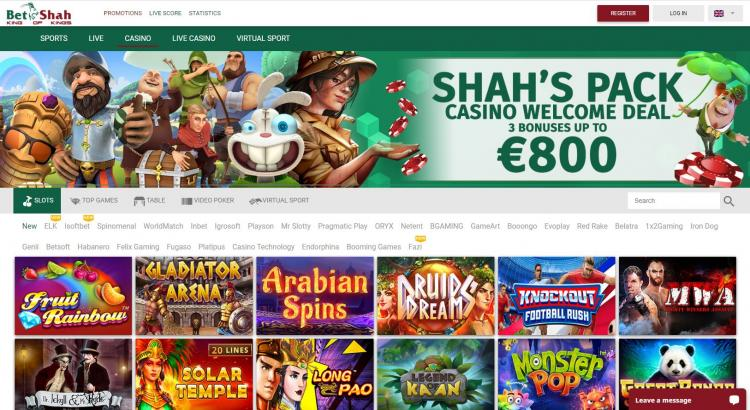 Bet Shah homepage image