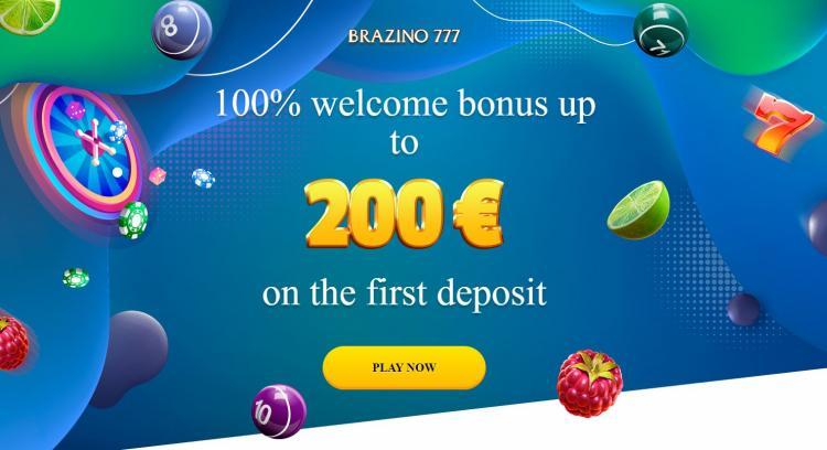 Brazino777 homepage image