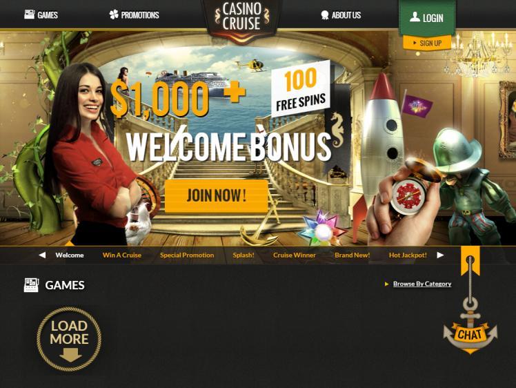 Casino Cruise homepage image