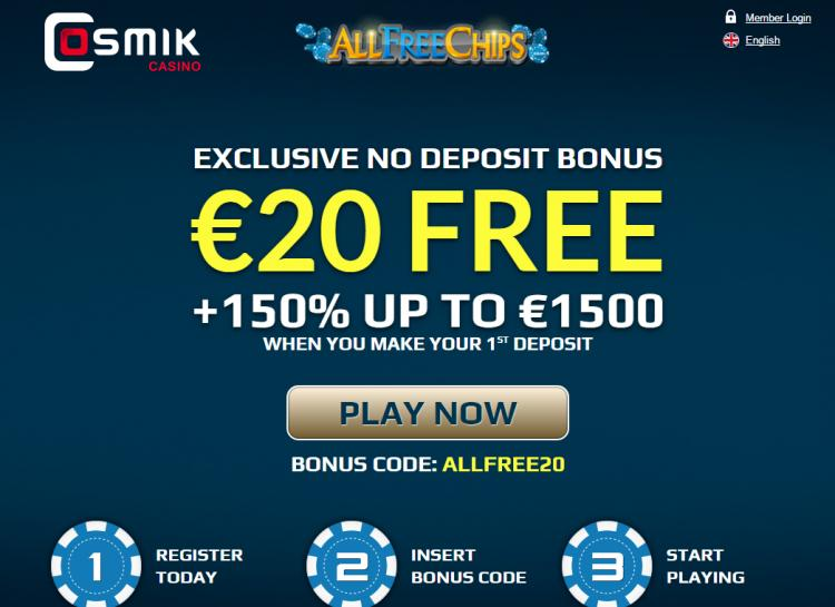 Cosmik homepage image