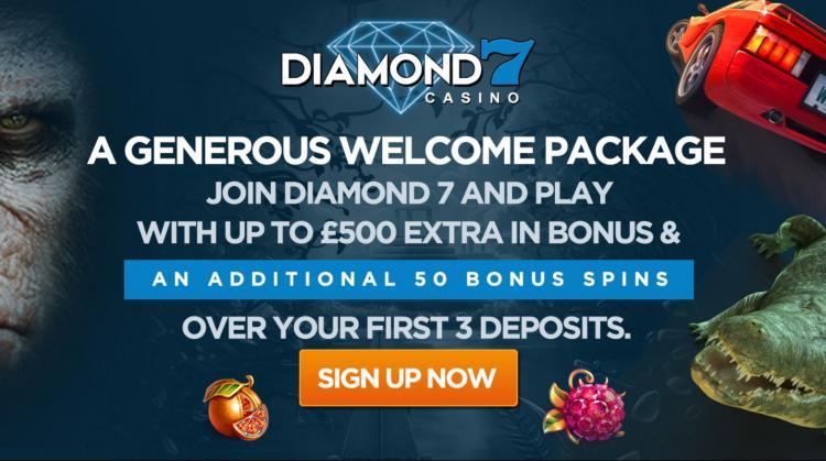 Diamond 7 homepage image