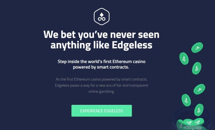 Edgeless homepage image
