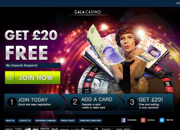 Gala homepage image