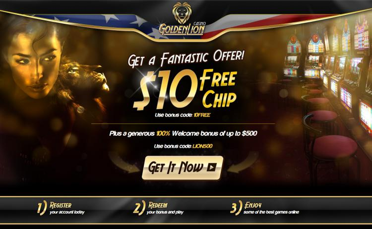 Golden Lion homepage image