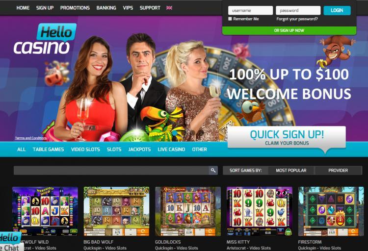 Hello homepage image