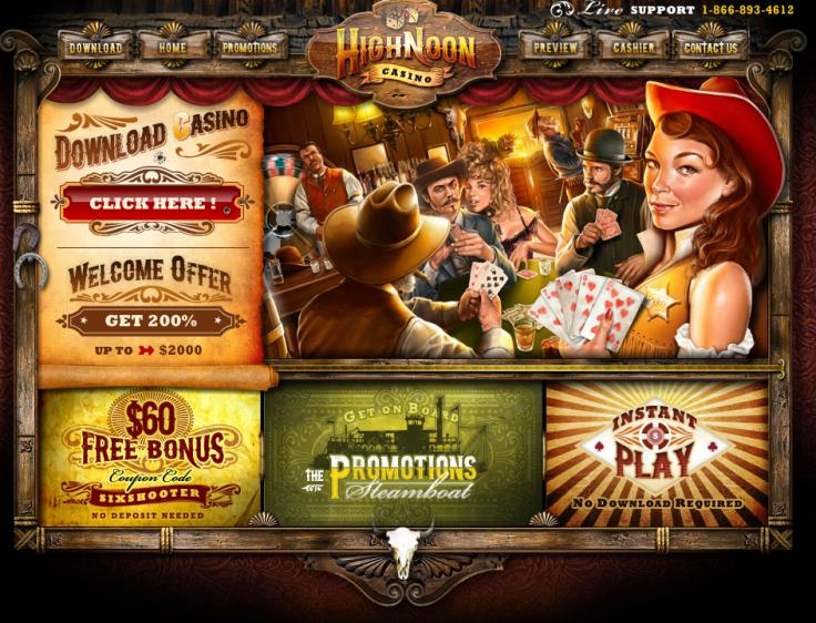 High Noon homepage image