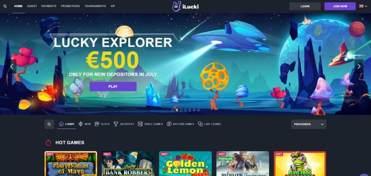 iLucki homepage image