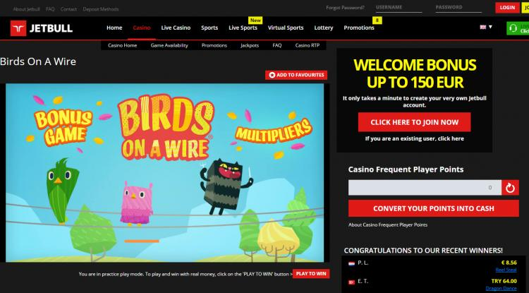 Jetbull homepage image