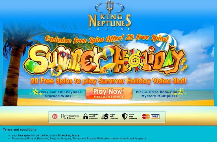 King Neptunes homepage image