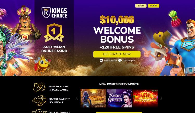 Kings Chance homepage image