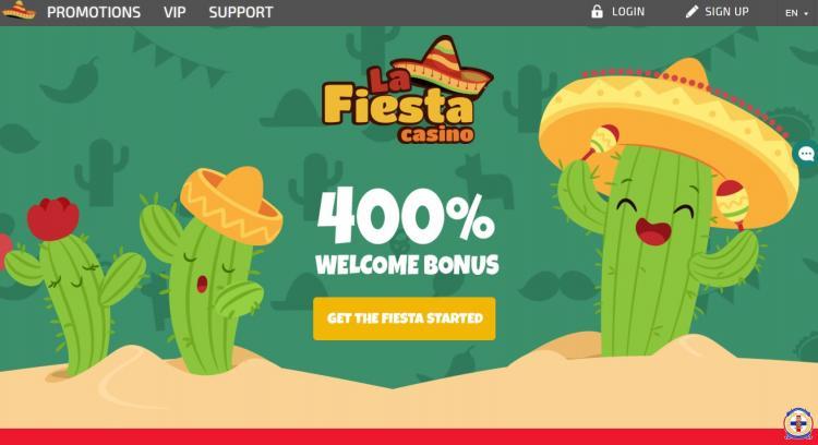 LaFiesta homepage image