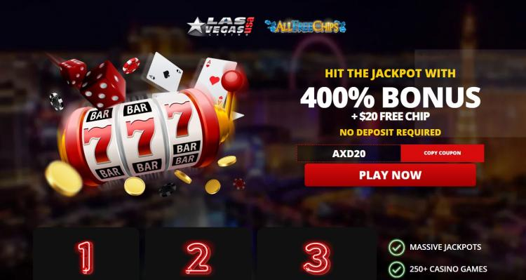 Las Vegas USA homepage image
