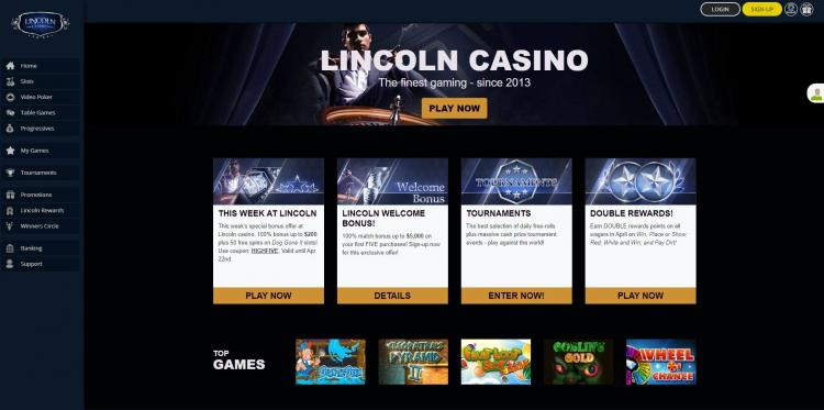 Lincoln homepage image
