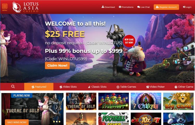 Lotus Asia homepage image