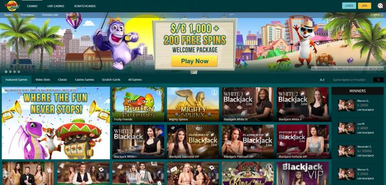 Luckland homepage image