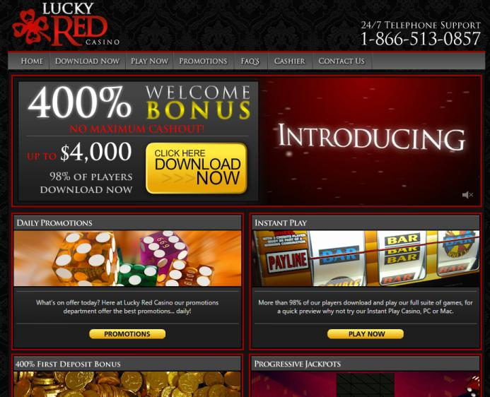 Lucky Red homepage image