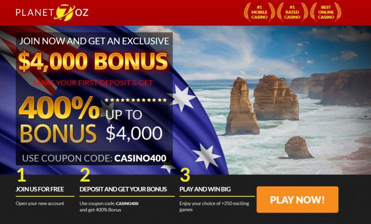 Planet7 Oz homepage image