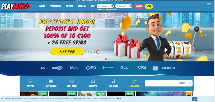 Play Jango homepage image