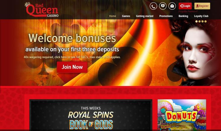Red Queen homepage image