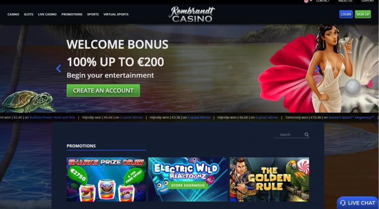 Rembrandt homepage image