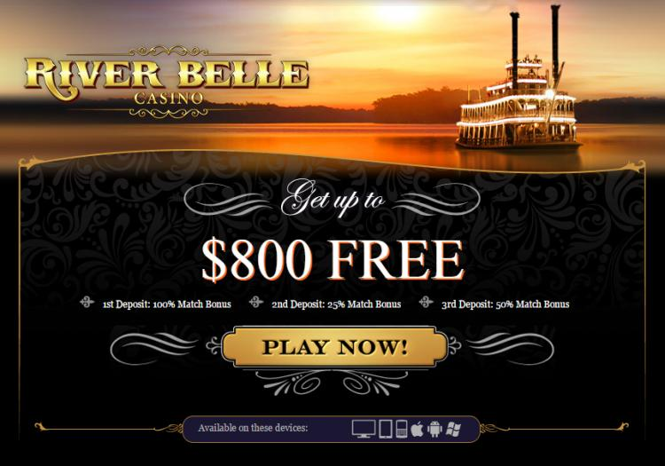 River Belle homepage image