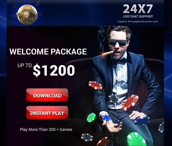 Royal Planet homepage image