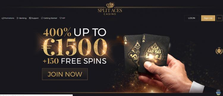 Split Aces homepage image