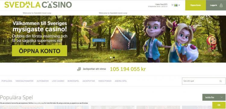 Svedala homepage image