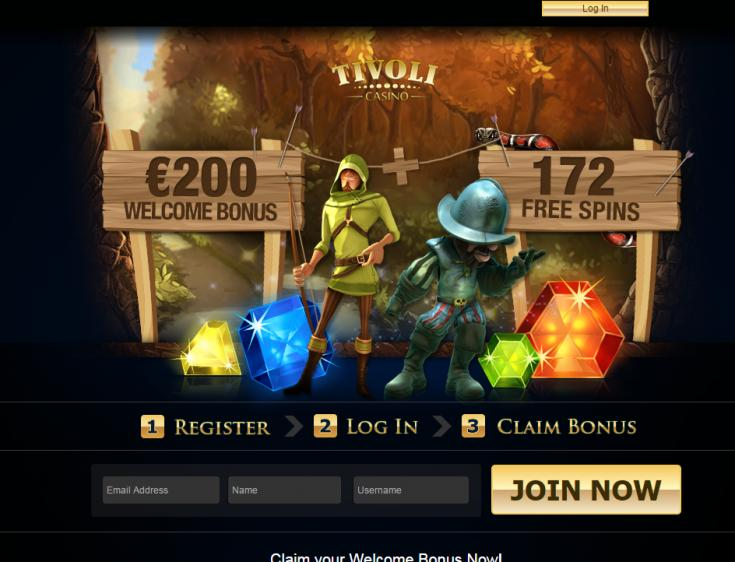Tivoli homepage image