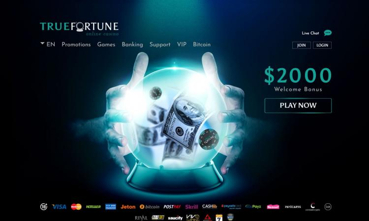 True Fortune homepage image
