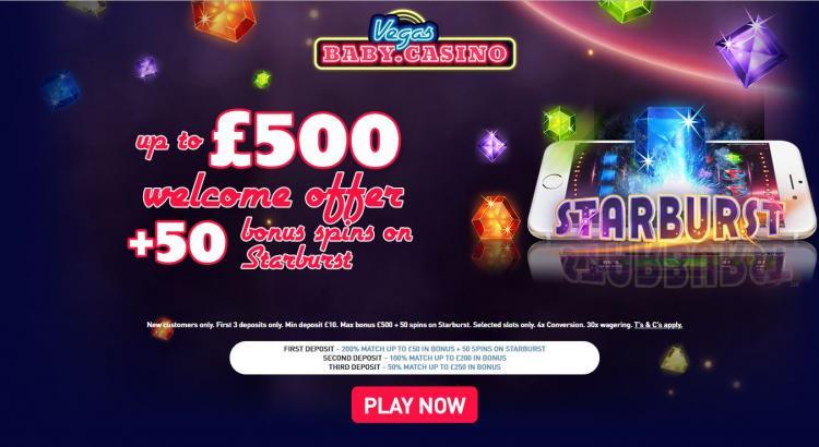 Vegas Baby homepage image