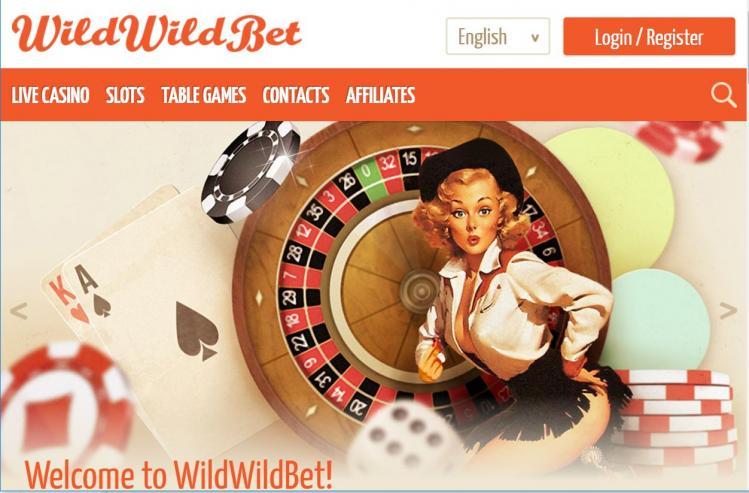 Wild Wild Bet homepage image