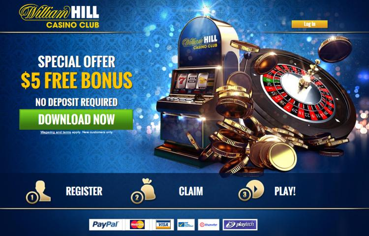 William Hill Casino Club homepage image