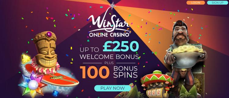 Winstar homepage image