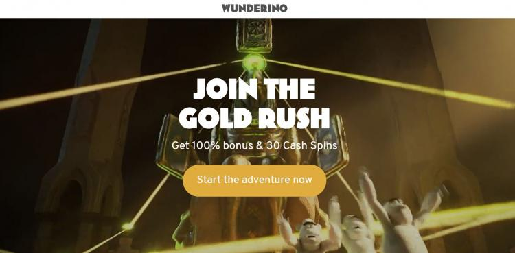 Wunderino homepage image