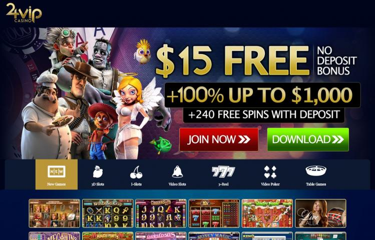 24 vip casino review