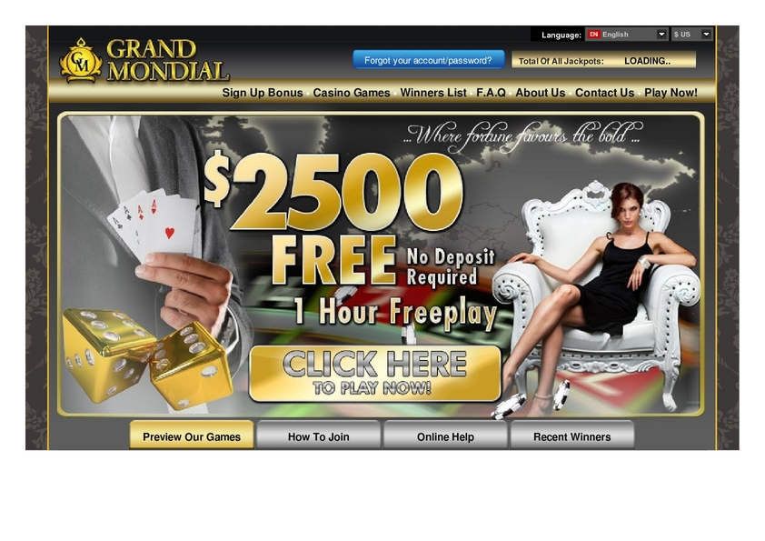 grand mondial casino forum