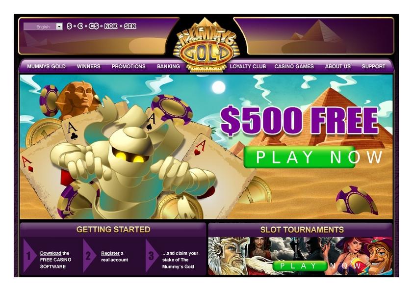mummys casino