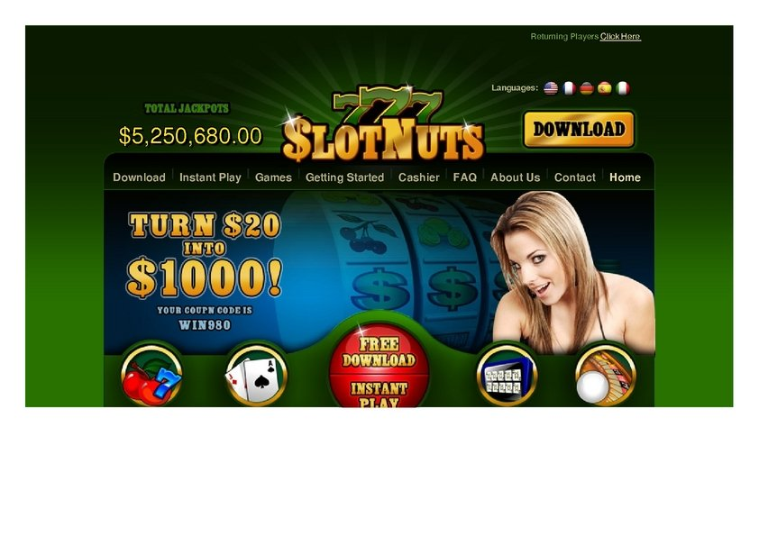 777 slot nuts fap roulette hook up