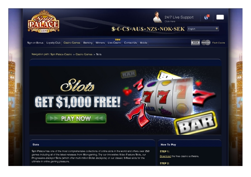Euro Palace Online Slots