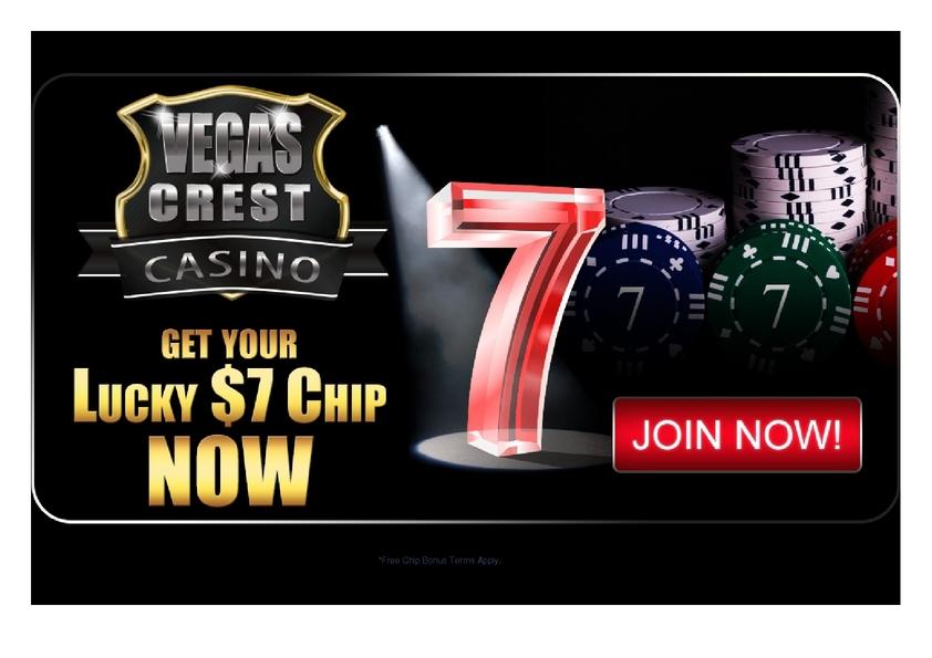 Vegas Crest No Deposit Bonus Codes