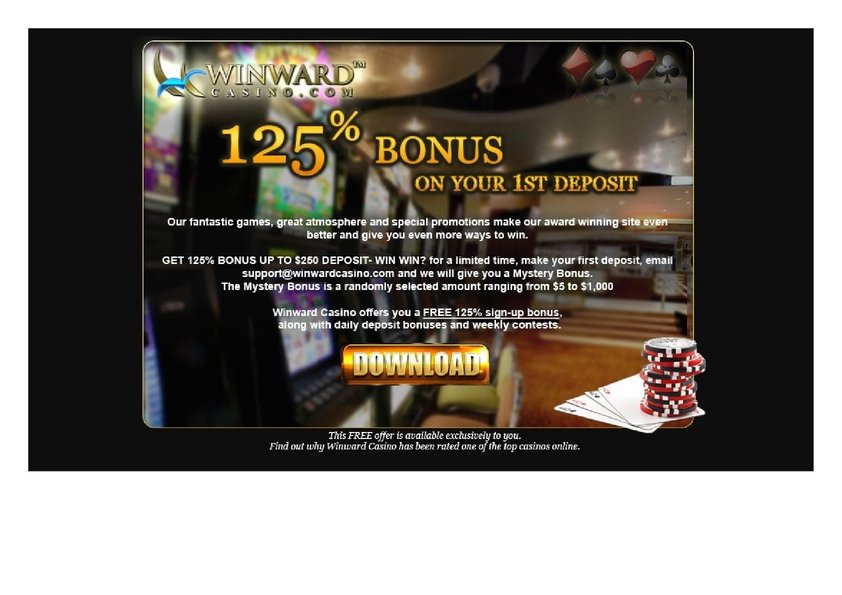 Casino offer winward onlineplay the-casino-guide onlineskills